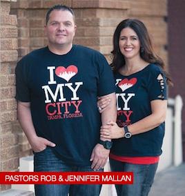 Pastors Rob & Jennifer Mallan